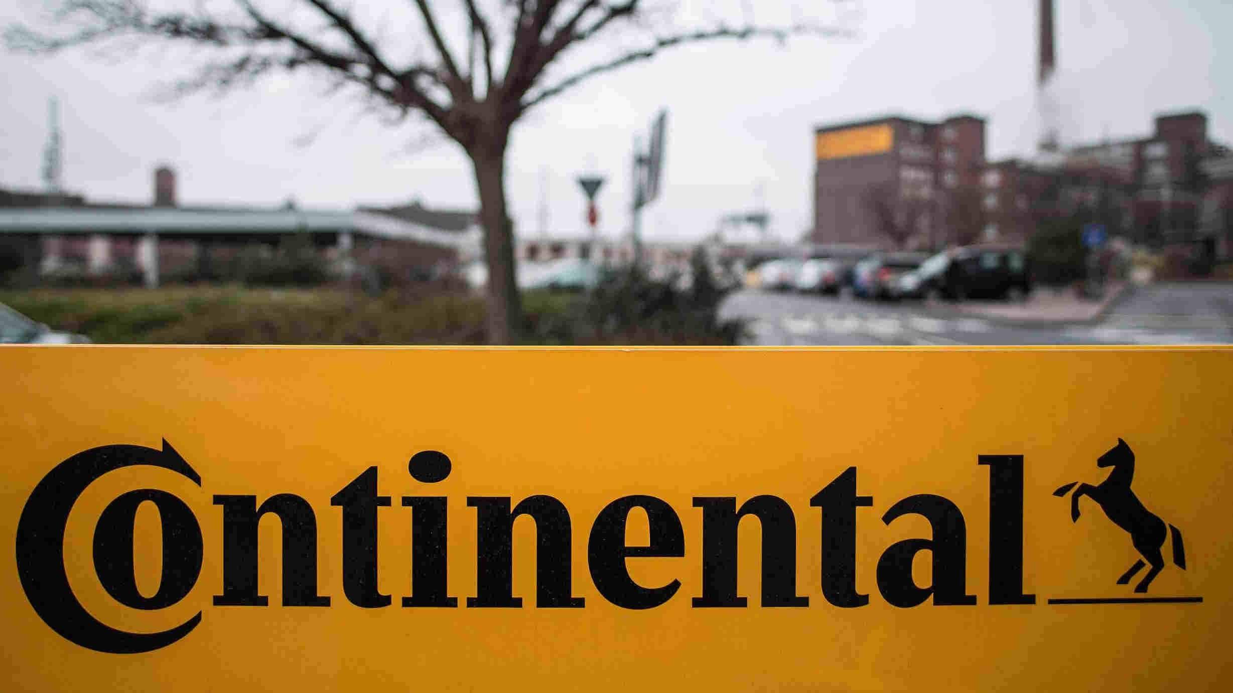 Une affiche de Continental AG