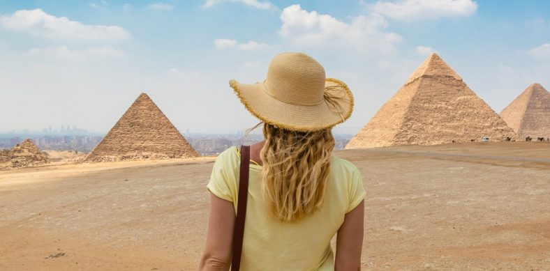 Une femme en Egypte
